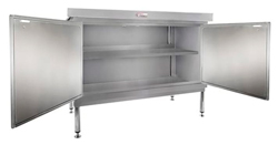 Simply Stainless SS32-DPK-MS-7-1200 Door Panel Kit with Solid Mid Shelf