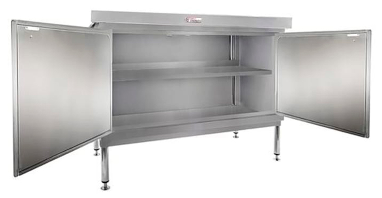 Simply Stainless SS32-DPK-MS-7-1500 Door Panel Kit with Solid Mid Shelf