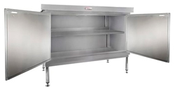 Simply Stainless SS32-DPK-MS-7-1800 Door Panel Kit with Solid Mid Shelf