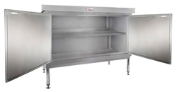 Simply Stainless SS32-DPK-MS-7-2400 Door Panel Kit with Solid Mid Shelf
