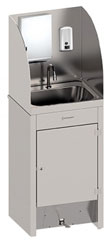 Stoddart WB.MS.TSD Foot Operated Mobile Hand Washing Basin