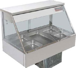 Woodson WCFS23-65 6 x 1/2Gn Pan Straight Glass Cold Food Display