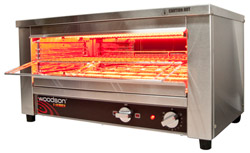 Woodson WGTQI15 15 Slice Glass Element Toaster Griller