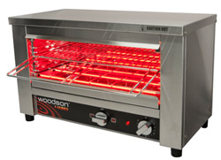 Woodson WGTQI4 4 Slice Glass Element Toaster Griller
