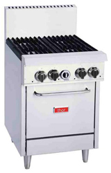 Thor TR-4F 4 Burner Natural Gas Oven