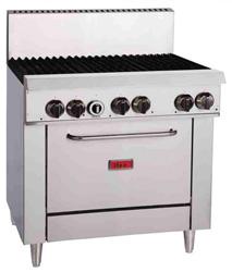 Thor TR-6F 6 Burner Natural Gas Oven