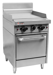 Trueheat RCR6-6G Gas 600 Griddle Gas Oven