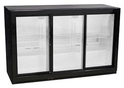 Austune A Series BB-3S(840) Back Bar Fridge 3 Glass Sliding Door