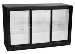 Austune A Series BB-3S(900) Back Bar Fridge 3 Glass Sliding Door