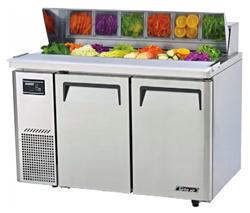 Turboair KHR12-2 Salad Prep Table 2 Doors Side Unit