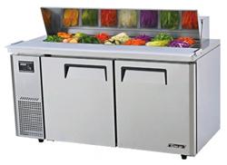 Turboair KHR15-2 Salad Prep Table 2 Doors Side Unit