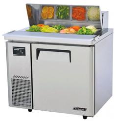 Turboair KHR9-1 Salad Prep Table 1 Doors Side Unit