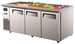 Turboair KSR18-3 Salad Buffet Table 3 Doors
