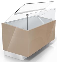 Ciam SQR4UPRV200I 6040 Ventilated Refrigerated Showcase R4