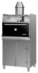 Josper Floor Standing Charcoal Oven with resting rack HJX-45/L BC