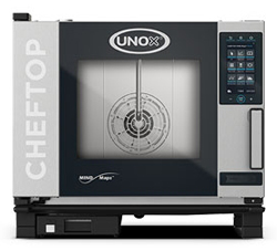 Unox XEVC-0511-GPRM ChefTop Mind Maps PLUS Series 5 Tray Gas Combi Oven