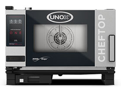 Unox XEVC-0311-E1RM ChefTop Mind Maps ONE Series 3 Tray Electric Combi Oven