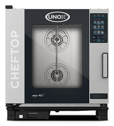 Unox XEVC-0711-GPRM ChefTop Mind Maps PLUS Series 7 Tray Gas Combi Oven