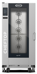 Unox XEVL-2011-YPRS ChefTop Mind Maps PLUS Series 20 Tray Electric Combi Oven