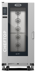 Unox XEVL-2021-YPRS ChefTop Mind Maps PLUS Series 20 2x1Gn Tray Electric Combi Oven