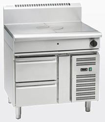 Waldorf RN8100G-RB Gas Target Top Refrigerated Base