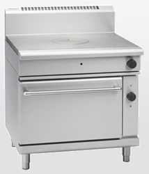 Waldorf RN8110GEC Electric Convection Oven Gas Target Top Range