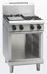 Waldorf RN8400G-CB Gas Cook Top 4 Burner Cabinet Base