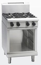 Waldorf RN8403G-CB Gas Cook Top 2 Burner 300 Griddle Cabinet Base