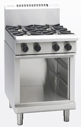 Waldorf RN8406G-CB Gas 600 Griddle Cabinet Base