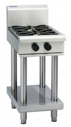 Waldorf RN8450G-LS Gas Cooktop Extra Wide 2 Burner Leg Stand