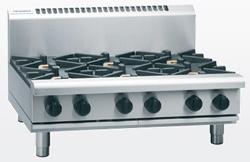 Waldorf RN8600G-B Gas Cooktop 6 Burner Bench Model