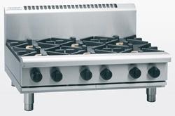 Waldorf RN8603G-B Gas Cooktop 4 Burner 300 Griddle Bench Model