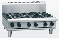 Waldorf RN8606G-B Gas Cooktop 2 Burner 600 Griddle Bench Model