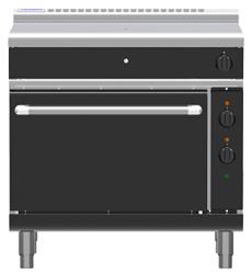 Waldorf Bold RNLB8110GE Electric Static Oven Low Back Gas Target Top Range
