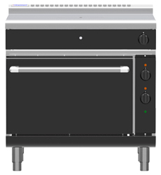 Waldorf Bold RNLB8110GEC Electric Convection Oven Low Back Gas Target Top Range
