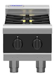 Waldorf Bold RNLB8203G-B Low Back Gas Griddle 300mm Bench Model