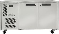 Williams Opal LO2USS 1x1 GN 2 Door Foodservice Counter Freezer