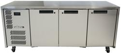 Williams Opal LO3USS 1x1 GN 3 Door Foodservice Counter Freezer