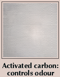 Woodson WCHF750-C Filter Hoods Activated Carbon Filters