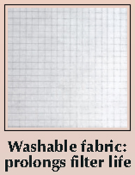 Woodson WCHF750-P Filter Hoods Polyester Filters