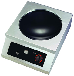 Yellow Induction Y2500TTW Counter Top Induction Wok