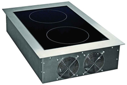 Yellow Induction Y3500DDSS Built In Dual Induction Hob Remote Controller