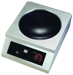Yellow Induction Y3500TTW Counter Top Induction Wok