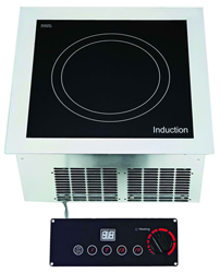 Yellow Induction Y5000DSS Built In Single Induction Hob Remote Controller