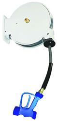 Yellow Tapware KHR-1015-O-Y722 4m Heavy Duty Hose Reel White