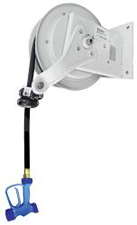 Yellow Tapware KHR-1035-O-Y722 11m Heavy Duty Hose Reel White