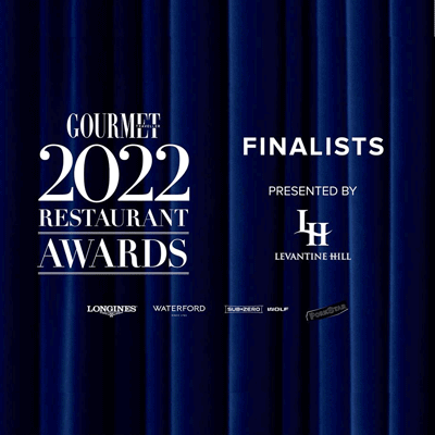 Gourmet Traveller 2022 Restaurant Awards