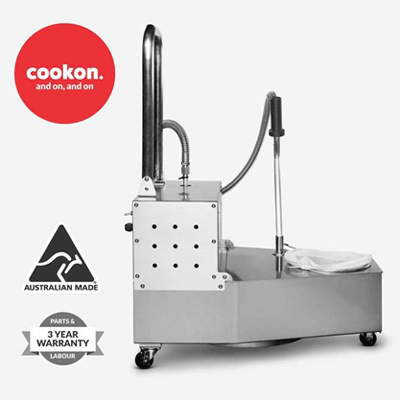 Cookon Kaybee oil filter machine