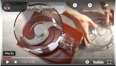 No. 3 Robot Coupe Vertical Cutter Mixers