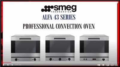 No. 4 Smeg Alfa43 Series Convection Ovens